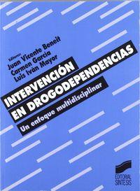 INTERVENCION EN DROGODEPENDENCIAS