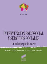 INTERVENCION PSICOSOCIAL Y SERVICIOS SOCIALES