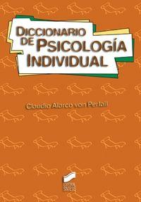 DICCIONARIO DE PSICOLOGIA INDIVIDUAL