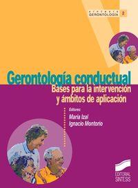 GERONTOLOGIA CONDUCTUAL