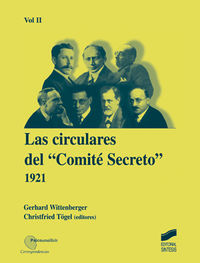 CIRCULARES DEL COMITE SECRETO, LAS (1921)