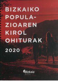 BIZKAIKO POPULAZIOAREN KIROL OHITURAK 2020