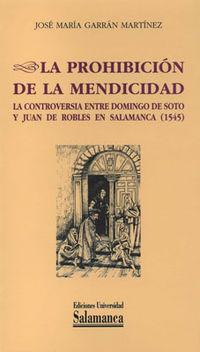 La prohibicion de la mendicidad - Jose Maria Garran Martinez