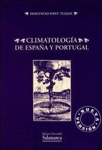 CLIMATOLOGIA DE ESPAÑA Y PORTUGAL