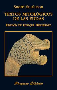 Textos Mitologicos De Las Eddas - Snorri Sturlusson