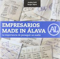 empresarios made in alava - Andres Goñi / Sergio Tejero