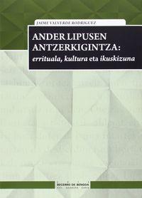 ANDER LIPUSEN ANTZERKIGINTZA - ERRITUALA, KULTURA ETA IKUSKIZUNA