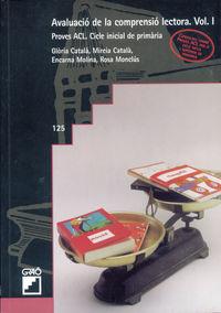 Avaluacio De La Comprensio Lectora Vol. I - Aa. Vv.