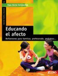 EDUCANDO EL AFECTO
