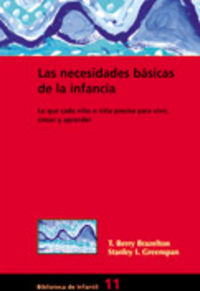 NECESIDADES BASICAS DE LA INFANCIA, LAS