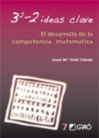 3-2 Ideas Clave - El Desarrollo De La Competencia Matematica - Jesus Maria Goñi Zabala