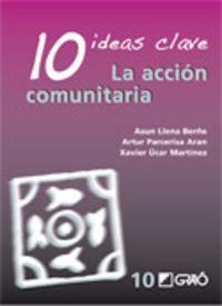 10 IDEAS CLAVE - LA ACCION COMUNITARIA