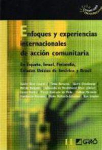 ENFOQUES Y EXPERIENCIAS INTERNACIONALES DE ACCION COMUNITARIA