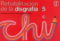REHABILITACION DE LA DISGRAFIA 5