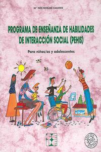 (PEHIS) PROGRAMA DE ENSEÑANZA DE HABILIDADES DE INTERACCION SOCIAL