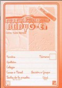 BADYG-E1 - CUAD. ELEMENTOS-RESPUESTAS