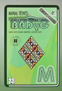 BADYG-M - CUADERNILLO