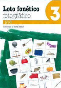 loto fonetico fotografico 3 - Marisol De La Torre Bernal