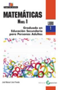 Matematicas - Nivel 01 - Libro 01 - Jose Manuel Llera Poveda