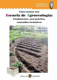 ESCUELA DE AGROECOLOGIA - FUNDAMENTOS, CASO PRACTICO, CONTENIDOS FORMATIVOS