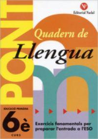 EP 6 - LLENGUA - PONT (CANVI DE CURS)