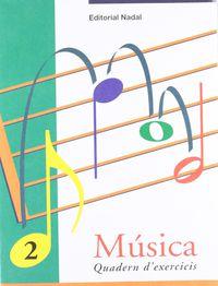 EI / EP - MUSICA EXERCICIS 2 (P-5 - C. I. ) - EL PENTAGRAMA. SO-SILENCI. INSTRUMENTS PERCUSSIO