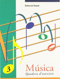 EI / EP - MUSICA EXERCICIS 3 (P-5 - C. I. ) - ESCRIPTURA: CLAU DE SOL I PENTAGRAMA