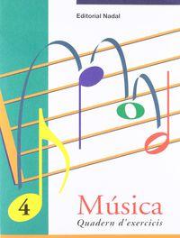 EP - MUSICA EXERCICIS 4 (C. I. - C. M. ) - RECONEIXEMENT DE LES NOTES. VALORS.