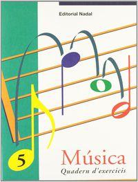 EP - MUSICA EXERCICIS 5 (C. I. - C. M. ) - LINIA-ESPAI. LA RODONA - SILENCI DE NEGRA