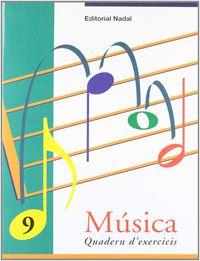 EP - MUSICA EXERCICIS 9 (C. M. - C. S. ) - NOTES: RE' I MI'. CORXEA, SILENCI DE BLANCA