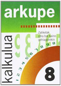 KALKULUA 8 - ARKUPE
