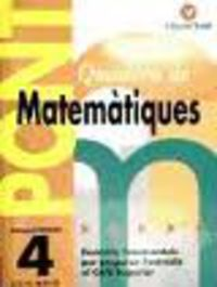 EP 4 - MATEMATIQUES - PONT (CANVI DE CURS)