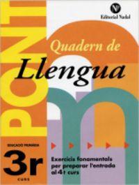 EP 3 - LLENGUA - PONT (CANVI DE CURS)