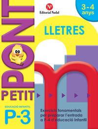 P3 - PETIT PONT - LLETRES