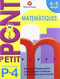 P4 - PETIT PONT - NOMBRES