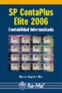 SP CONTAPLUS ELITE 2006 CONTABILIDAD INFORMATIZADA