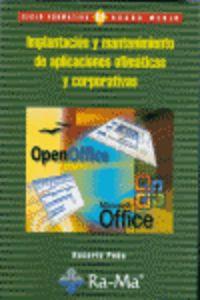 IMPLANTACION Y MANTENIMIENTO DE APLICACIONES OFIMATICAS