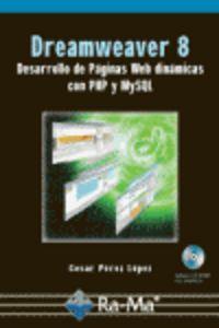 Dreamweaver 8 (+ Cd-rom) - Cesar Perez Lopez