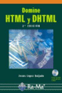Domine Html Y Dhtml - Jose Lopez Quijado