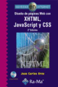DISEÑO DE PAGINAS WEB CON XHTML, JAVASCRIPT Y CSS