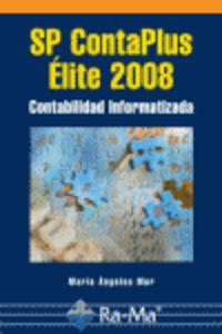 SP CONTAPLUS ELITE 2008 - CONTABILIDAD INFORMATIZADA