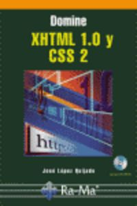 DOMINE XHTML 1.0 Y CSS 2 (+CD-ROM)