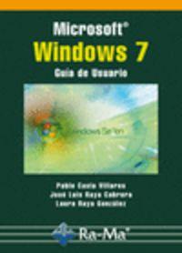 MICROSOFT WINDOWS 7 - GUIA DE USUARIO