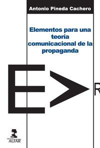 ELEMENTOS PARA UNA TEORIA COMUNICACIONAL DE LA PROPAGANDA