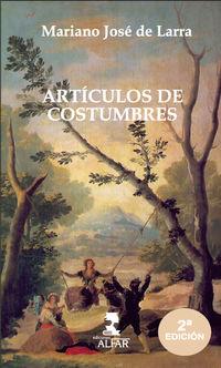 (2 ED) ARTICULOS DE COSTUMBRE