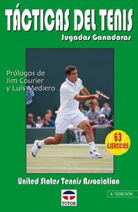 Tacticas Del Tenis - Jugadas Ganadoras - Aa. Vv.