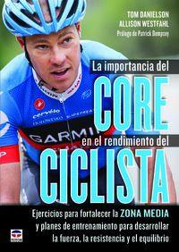 La importancia del core en el rendimiento del ciclista - Tom Danielson / Allison Westfahl
