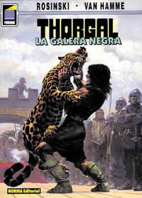Thorgal 4 - La Galera Negra - Jean Van Hamme / Grzegorz Rosinski