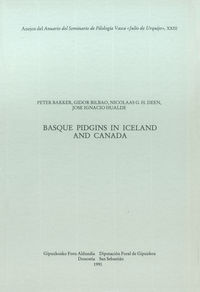 BASQUE PIDGINS IN ICELAND AND CANADA - ASJU 23