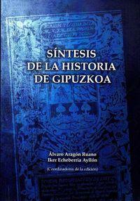 SINTESIS DE LA HISTORIA DE GIPUZKOA